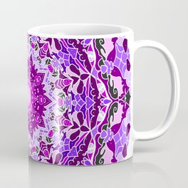 aurora mandala purple Coffee Mug