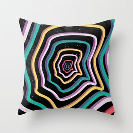World Trip Throw Pillow