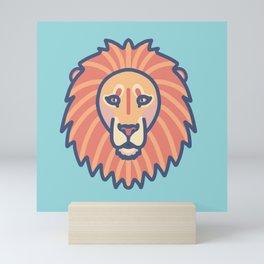 Lion head Mini Art Print
