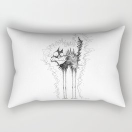 Electrocuted Cat by Carine-M Rectangular Pillow