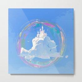 Cloud Castle Metal Print