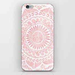 Blush Lace iPhone Skin