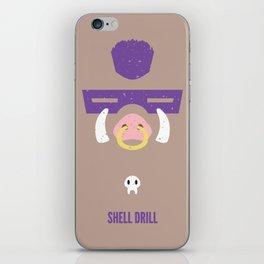 Bebop - Shell Drill iPhone Skin