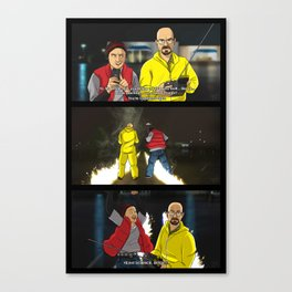 Breaking Bad to the Future  Canvas Print