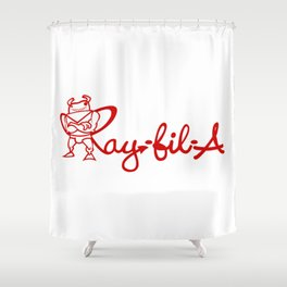 Ray Fillet's Ray-fil-A Shower Curtain