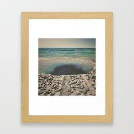 sink hole Framed Art Print