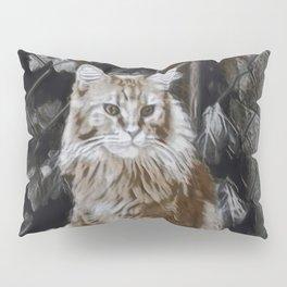 Maine Coon Cat I Pillow Sham