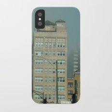 Chicago ~ Broadway Avenue Fog iPhone X Slim Case