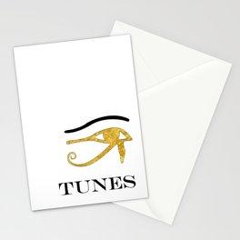 Eye Tunes Stationery Cards