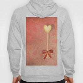 beautiful heart on texture kaleidoscope Hoody