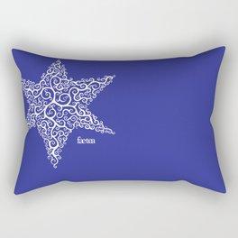 David's Star Rectangular Pillow