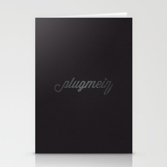 Plug Me In Stationery Cards