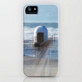 Merewether baths pumphouse iPhone Case