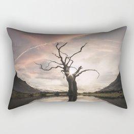 Sgùrr Alasdair Sunset - United Kingdom Rectangular Pillow