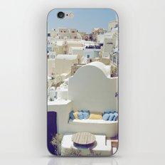 Santorini Lounge iPhone & iPod Skin