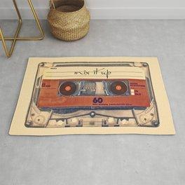 Mash Up Mixtape Vintage Record Player Cassette Tape Hybrid Rug