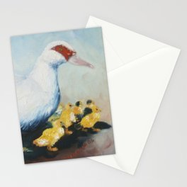 Mama Duck Stationery Cards