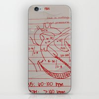 cabin pressure iPhone & iPod Skins featuring Pressure by Scotty Fagaly