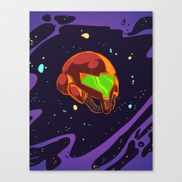 Samus - Colour Canvas Print