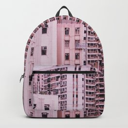 Hong Kong Pink City Backpack