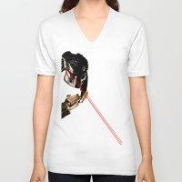 predator V-neck T-shirts featuring Predator  by bayes bros