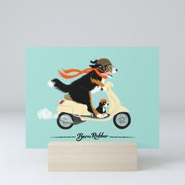 Bern Rubber Mini Art Print