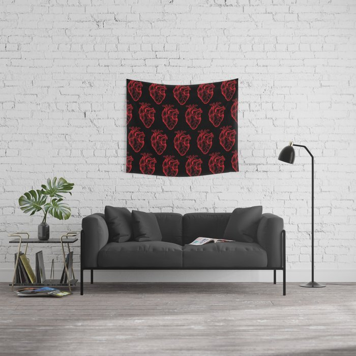 Heartless Wall Tapestry