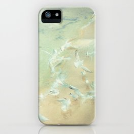 Nostalgia - Winter Baltic Sea Serie iPhone Case