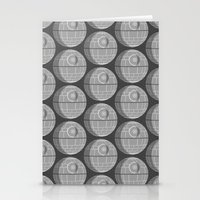 death star Stationery Cards featuring Star Wars Death Star by foreverwars
