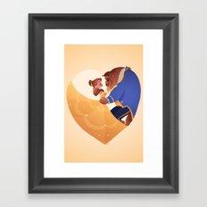 Certain as the sun Framed Art Print