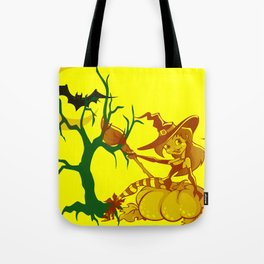 Sassy Little Witch Tote Bag