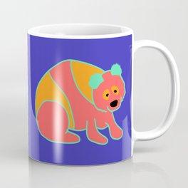 Panda (Blue background) Coffee Mug