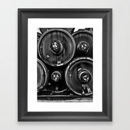 Wheel Stack Framed Art Print