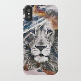 LION 6 iPhone Case
