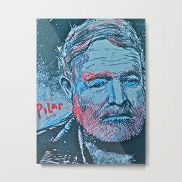 Hemingway pilar Metal Print