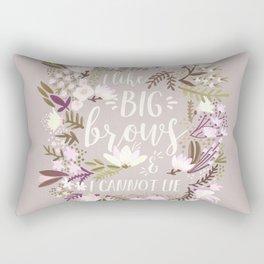 Big Brows – Spring Palette Rectangular Pillow