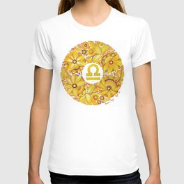 Libra in Petrykivka style (with signature) T-shirt