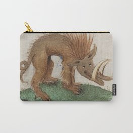 Medieval wild boar or warthog Carry-All Pouch