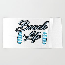 Beach Life Beach Towel