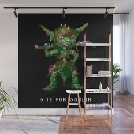 G is for Goblin Wall Mural