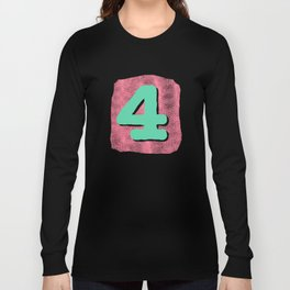 Number4 Long Sleeve T-shirt