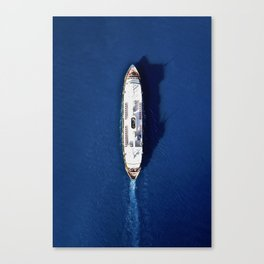 Take the ferry Canvas Print
