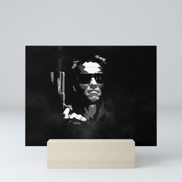 He'll Be Back Terminator Schwarzenegger Mini Art Print