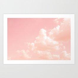 Spun Sugar Clouds Art Print