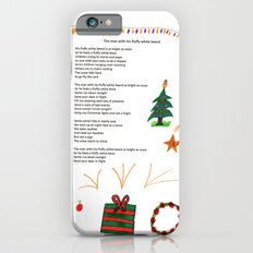 The Man with his Fluffy White Beard Poem iPhone 6s Slim Case