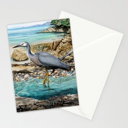 Lunch at the Beach Stationery Cards