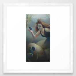 """""""Aquatic Angel"""" Framed Art Print"""