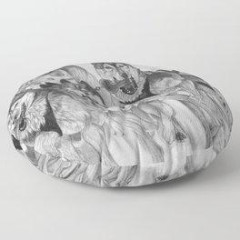 Dog Power Floor Pillow