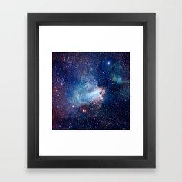 Omega Nebula Framed Art Print