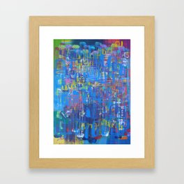 Forward is The Only Direction Framed Art Print